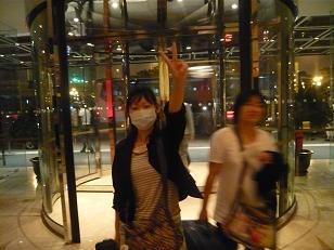 北京ホテル前
