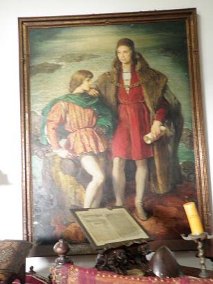 父コロンブスと息子ディエゴ