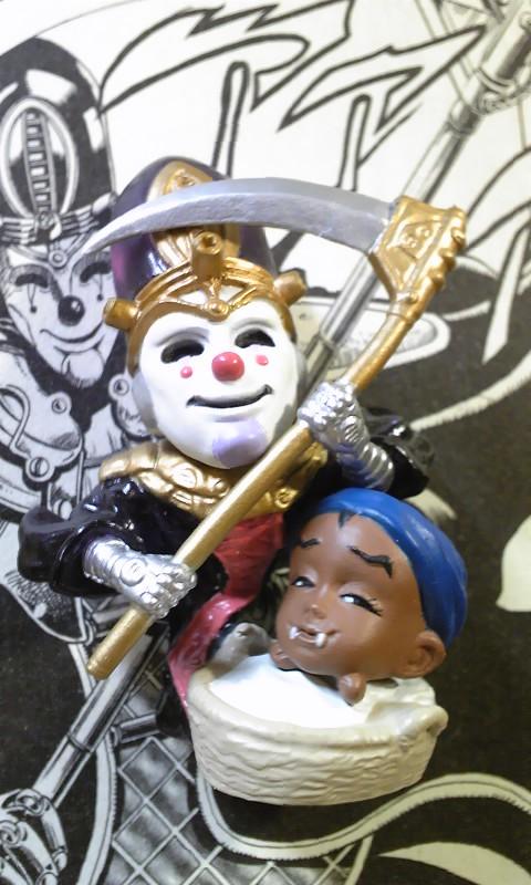 キャラヒーローズ 死神13(デス・サーティーン)&赤ん坊
