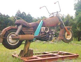 鉄のバイク