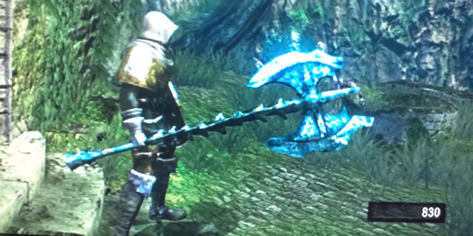 ガーゴイルの尾斧