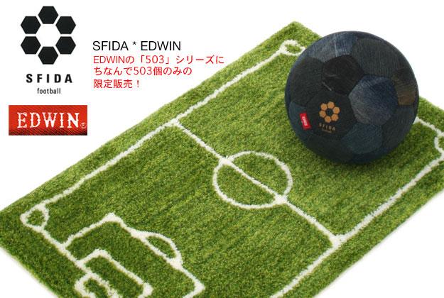 スフィーダ×エドウィン/SFIDA*EDWIN (デニムフットサルボール)
