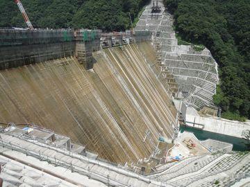 湯西川ダム!