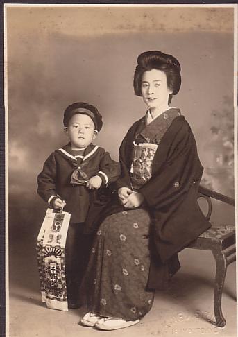 おばあちゃんと母の兄