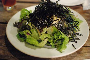 お豆腐とわかめの和風サラダ