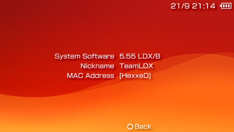LDX インフォメーション