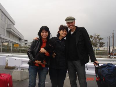 博多港にて