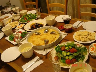12月5日シアタークラスのお料理