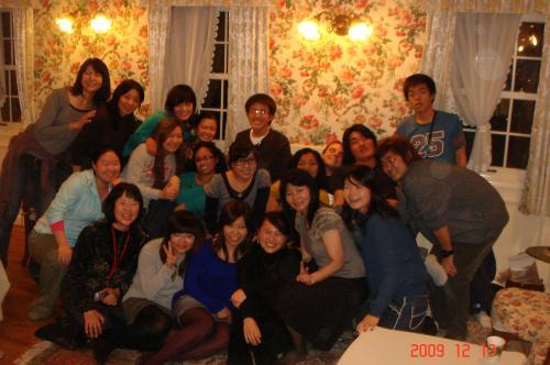 西南留学生クリスマスパーティ