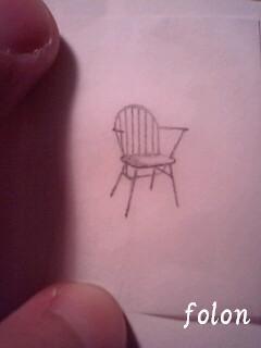 椅子1.下絵