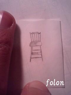 椅子2.下絵