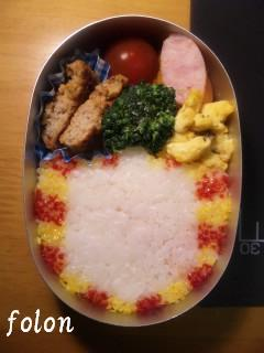 The World of GOLDEN EGGS弁当.02