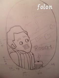ロバート先生.下絵