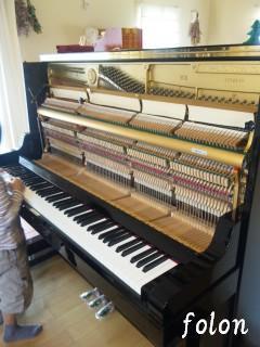 ピアノの内部1