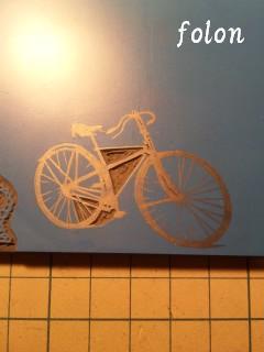 自転車はんこ.01