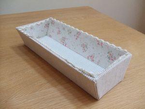 カルトナージュで箸箱