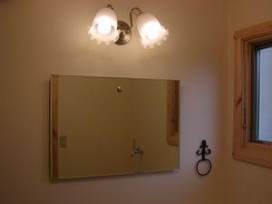 1階洗面所照明