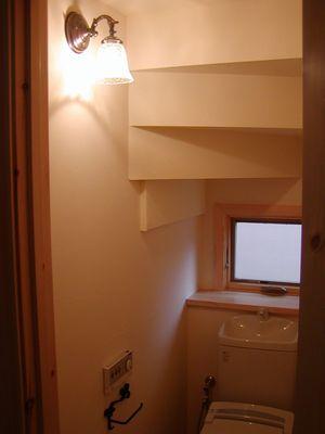 1階トイレ照明