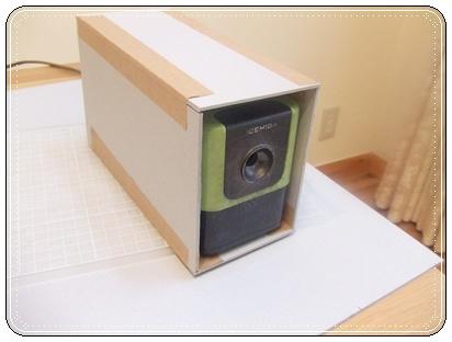 厚紙で箱を作る
