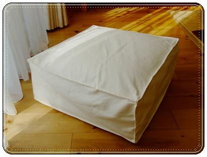 座布団でソファ作り