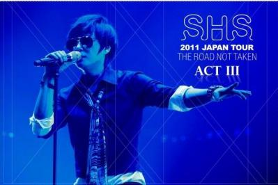 SHIN HYE SUNG 2011 JAPAN TOUR – THE ROAD NOT TAKEN ACT III
