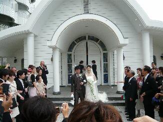 安部君結婚式
