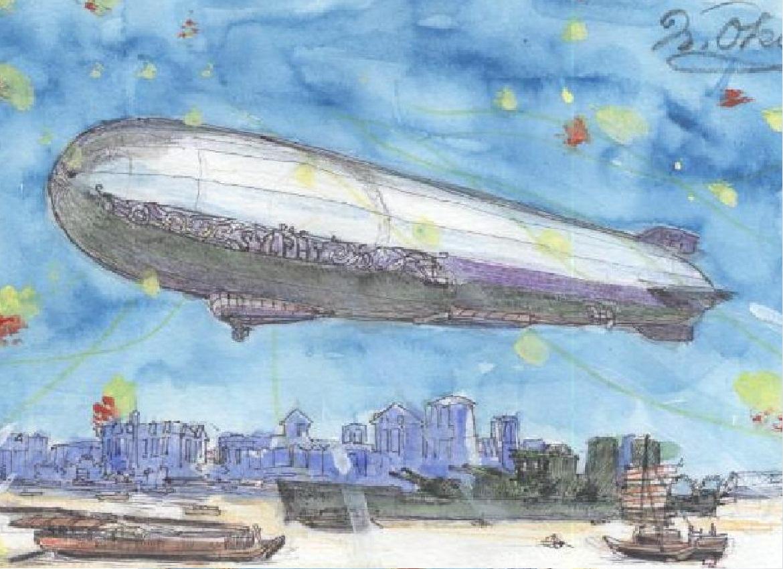 飛行船シルフィ―