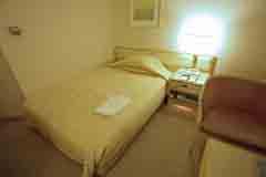 ホテルセンチュリー21 ベッド2