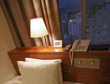 オリエンタルホテル広島 部屋からの眺め