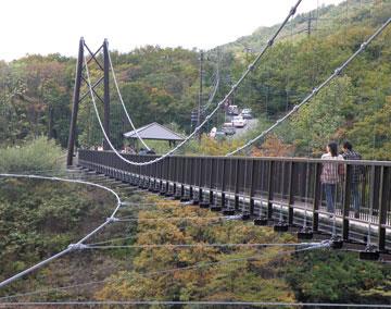 つつじ吊り橋2