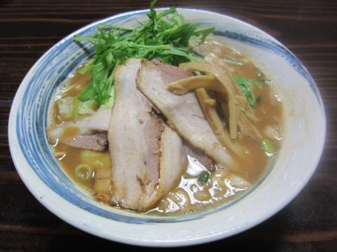 『麺家 静』で本日限定「豚骨煮干味噌ラーメン」18時提供開始♪-2