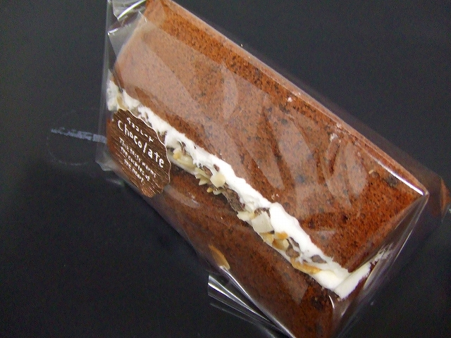 生シフォンプラスチョコナッツ