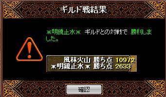 9.6GV 風林火山 結果