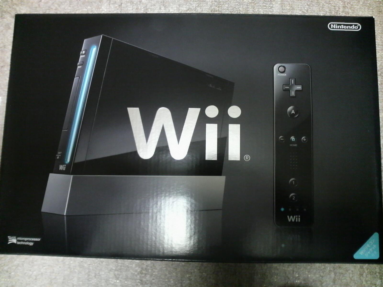 Wiiが我が家に来ました♪