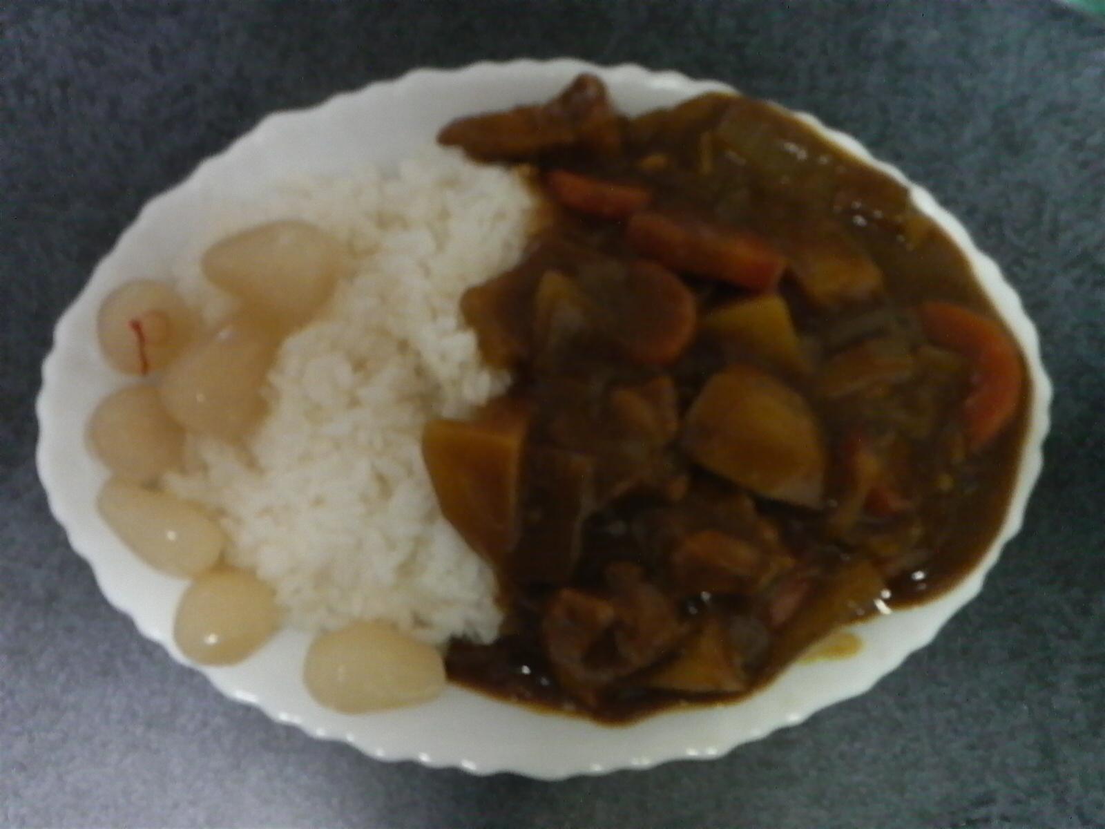 日本の国民食、カレーライス