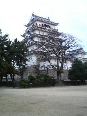 福山城の天守閣