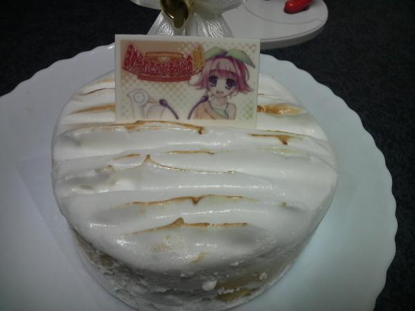 ほめられてのびるクリスマスケーキ