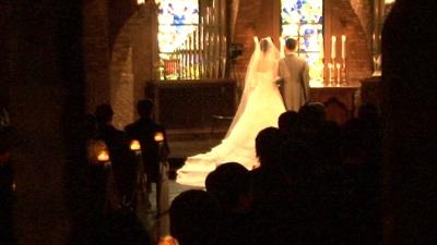 セレス立川のチャペルにて結婚式