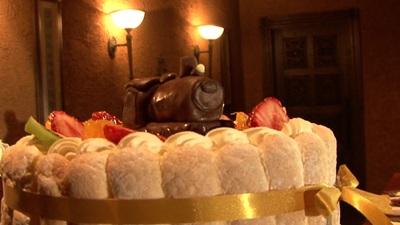 機関車付、ウェディングケーキ