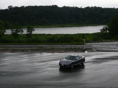 SE3Pと雨上がりの八幡平の大沼
