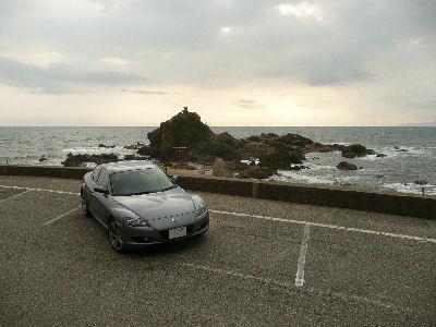 RX-8と日本海
