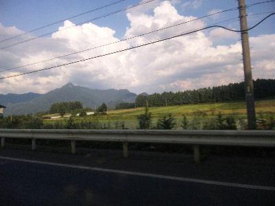 夏の野辺山、いい景色