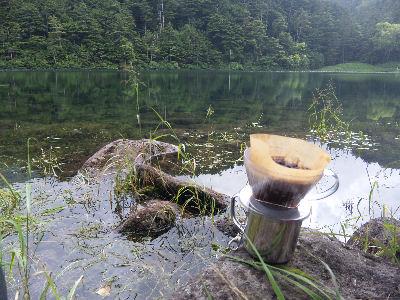 雌池とコーヒー