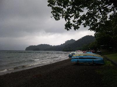 嵐のような十和田湖