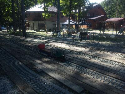 白馬ミニトレインパークの駅
