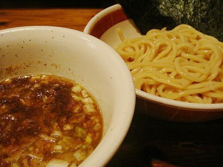 つけ麺(並盛)@吉田製麺店