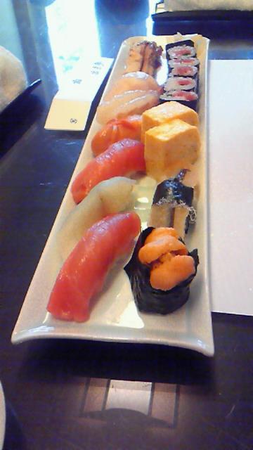 お寿司サイコー!