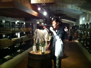 なんと170種類のワインが試飲できる。