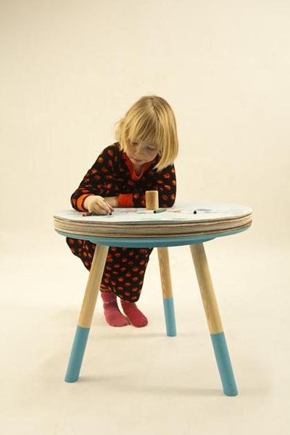 子供テーブル紙i
