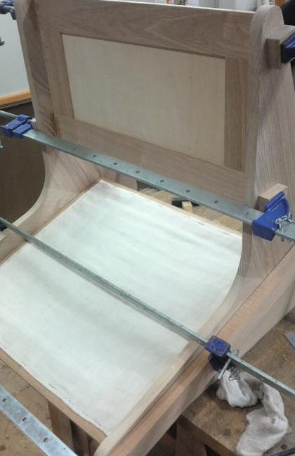 椅子製作過程
